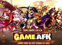 Tam Quốc Ca Ca - Game Tam Quốc AFK cực hot chính thức xuất hiện: FREE 50+ lần quay tướng, tặng quà tới tấp từng ngày, từng giờ!