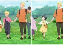"""Nhọ như Boruto, bị cư dân mạng làm cho """"bay màu"""" khỏi bức ảnh gia đình Uzumaki"""