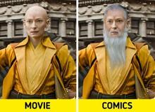 Nếu được xây dựng đúng theo nguyên tác truyện, các nhân vật nổi tiếng trong phim trông sẽ như thế nào?