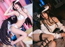 Chả mấy khi được thấy quỷ nữ Albedo trong Overlord diện bikini sexy đến thế, nhìn cứ bị u mê