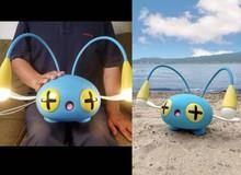 Bá đạo như game thủ Nhật, chế hẳn Pokemon phiên bản đời thực giống như đúc, có luôn khả năng phóng điện