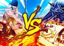 Thời tới cản không kịp, nếu không có người ngăn cản Sanji đã một mình cân 3 trong One Piece chap 1022