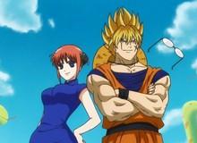 """Dragon Ball, One Piece, Doraemon và những anime đình đám đã bị Gintama """"copy paste"""" với mục đích tấu hài"""