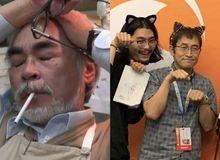 Loạt meme hài hước về sự đối lập giữa đạo diễn Miyazaki Hayao và họa sĩ Junji Ito
