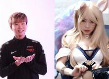 """Ăn mừng T1 vào Chung kết LCK, nữ streamer """"siêu vòng 1"""" kiêm bạn gái Canna lại chiêu đãi fan màn vũ đạo bốc lửa"""