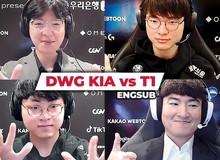 DWG KIA và T1 - Mối giao tình kỳ lạ: Vừa là bạn, vừa là địch thủ, và những trận đấu biểu trưng cho tinh thần thượng võ