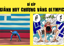 Các fan One Piece phấn khích khi vận động viên nhảy xa cosplay gear 2 của Luffy để giật huy chương vàng Olympic