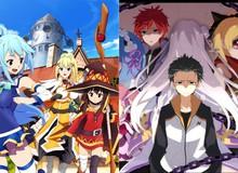 15 bộ anime isekai đáng xem nhất thập kỷ qua theo bình chọn của fan (P.2)