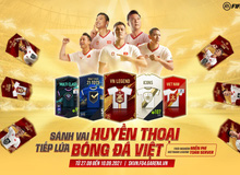 VietNam Legends: Game thủ háo hức khi FIFA Online 4 hứa tặng cầu thủ Viêt Nam