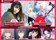 """Các fan háo hức khi """"Trùng Trụ"""" Hayami Saori sẽ là seiyuu lồng tiếng cho Yamato trong One Piece"""