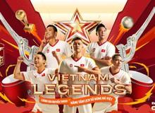 Hồng Sơn và các huyền thoại bóng đá Việt Nam bất ngờ xuất hiện trong FIFA Online 4