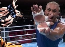 Son Goku và tuyệt kỹ Kamehameha xuất hiện trong thế vận hội mùa hè Olympic Tokyo 2020