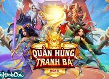 Quần Hùng Tranh Bá mùa 6 - Giải đấu bang chiến Tân Minh Chủ chính thức khởi tranh: Khốc liệt, căng thẳng và đặc biệt nhiều quà hơn trước!