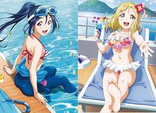 Mùa dịch xem gì, anime Love Live! được nhiều fan yêu thích với những cô nàng nóng bỏng trong bộ đồ bơi