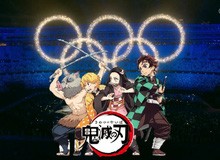 Olympic Tokyo gây bất ngờ phát nhạc Kimetsu no Yaiba trong lễ bế mạc