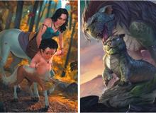 """Sinh vật thần thoại khi còn bé đáng yêu cỡ nào? Xem ảnh mà ai cũng muốn có một """"thú cưng"""" như thế!"""