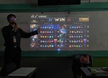 Mải chơi Liên Quân quên cả giờ dạy học online, thầy giáo chat năn nỉ 1 câu khiến đối thủ cũng bó tay?