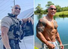 """Anh cảnh sát có ngoại hình giống hệt The Rock khiến """"bản chính chủ"""" cũng phải lên tiếng khen ngợi và mời đi nhậu"""