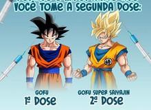 Các fan Dragon Ball phấn khích khi hình ảnh Son Goku được sử dụng trong việc tuyên truyền tiêm vắc xin COVID-19