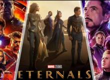 """Thời lượng phim Eternals chính thức được hé lộ, được Marvel """"cưng"""" hết mức chỉ sau Avengers: Endgame"""