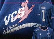 """Tri ân LMHT Việt Nam, """"người anh em"""" PSG Talon sẽ chiến đấu tại CKTG 2021 với logo VCS trên áo đấu"""
