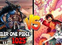"""Spoil đầy đủ One Piece chap 1025: Kaido bị 3 đứa trẻ thuộc thế hệ """"Gen Z"""" đánh hội đồng"""