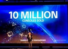 """Sony đã """"tẩu tán"""" hơn 10 triệu máy PS4"""