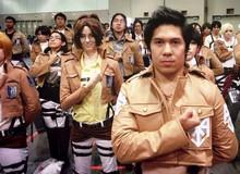 Giới trẻ Nhật phát cuồng vì thử vai cho phim Attack on Titan
