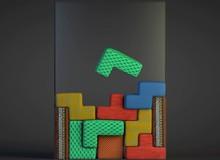 Tetris ngộ nghĩnh với màn chơi bằng... nệm