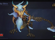 Liên Minh Huyền Thoại: Hình ảnh fan art tuyệt đẹp của thần rồng Ao Shin