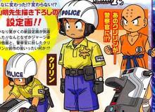 Krillin cạo đầu làm cảnh sát trong phim Dragon Ball mới