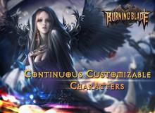 Burning Blade - Game MMORPG 3D cực chất trên di động