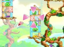 Angry birds stella - Thưởng thức cú bay ngoạn mục của chim hồng