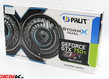 Palit GTX 750 Ti StormX: Thần lực card đồ họa ép xung