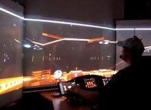 Ngắm màn hình chơi game 3D mơ ước của mọi game thủ