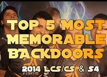 """Liên Minh Huyền Thoại: Top 5 pha """"đẩy lén"""" đáng nhớ nhất LCS 2014"""
