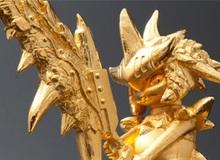 Capcom tung mô hình game bằng vàng ròng giá nửa tỷ VND