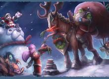 Thiệp Giáng Sinh của hãng game nào đẹp nhất?
