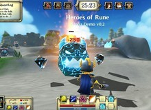 Heroes of Rune - Game MOBA lai RPG vui nhộn mới toanh