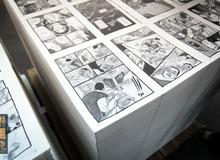 Hình ảnh độc về quy trình sản xuất truyện tranh Việt - Long Thần Tướng