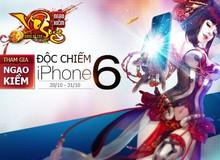 """Game thủ Ngạo Kiếm Vô Song có thể """"quay"""" ra iPhone 6?"""