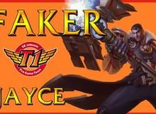 Liên Minh Huyền Thoại: Faker cầm Jayce bắn max thốn