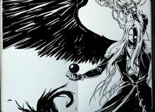 Chiêm ngưỡng những bức họa game đen trắng đẹp ngỡ ngàng