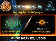 SG DLight vs Kiên Giang ARB: Cặp thư hùng kinh điển của 3Q Củ Hành