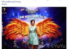 Facebook tràn ngập hình ảnh Midu chơi Thương Khung Chi Mộng