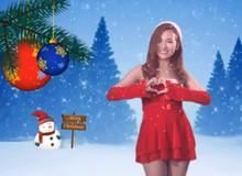 Nữ hoàng EDM Trang Moon phát quà cho boy FA đêm Noel