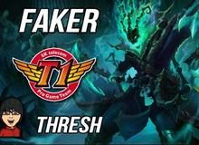 Liên Minh Huyền Thoại: Khi Faker thể hiện tài năng hỗ trợ với Thresh
