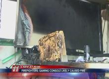 Game thủ bị cháy rụi cả nhà vì máy Wii