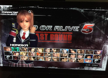 Nữ sinh gợi cảm xuất hiện trong Dead or Alive 5: Last Round