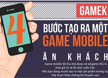 [Infographic] 4 bước tạo ra một game mobile ăn khách